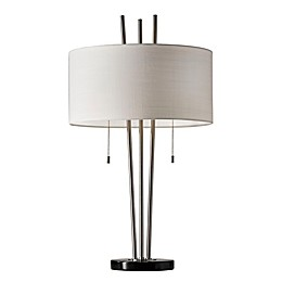Adesso® Anderson Table Lamp in Brushed Steel