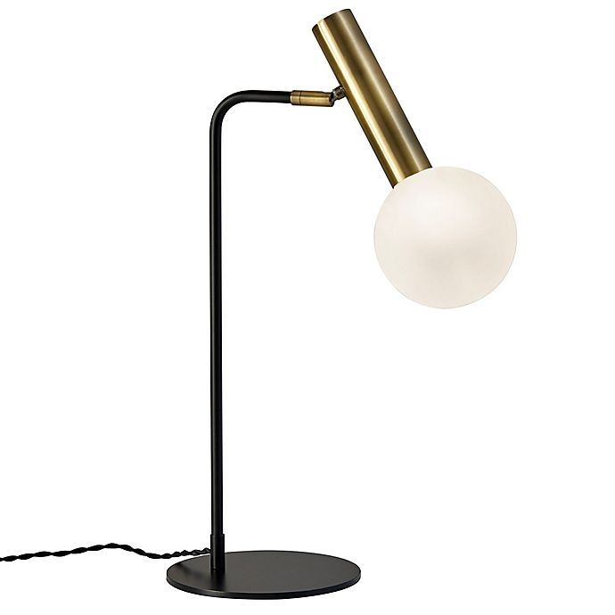 Adesso® Sinclair LED Desk Lamp in Black | Bed Bath & Beyond
