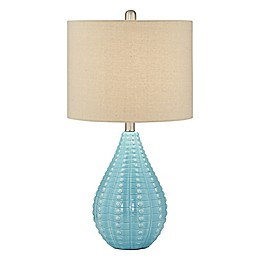 Pacific Coast Lighting Coastal Table Lamp in Turquoise
