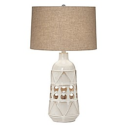 Pacific Coast® Tribal Geo Ceramic Table Lamp