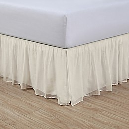 Cotton Voile 15-Inch Bed Skirt