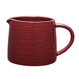 Noritake® Red on Red Swirl Creamer