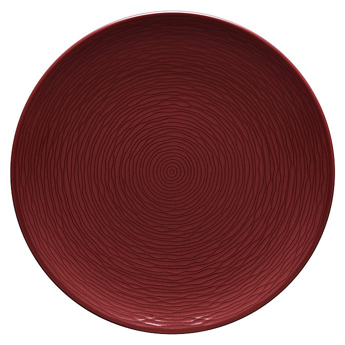 Alternate image 1 for Noritake® Red on Red Swirl Coupe Dinner Plate