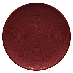 Noritake® Red on Red Swirl Coupe Dinner Plate