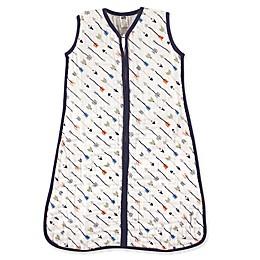 Hudson Baby® Arrows Muslin Sleeping Bag in White/Navy