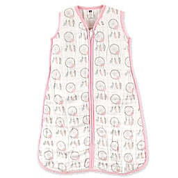 Hudson Baby® Dream Catcher Muslin Sleeping Bag in Pink