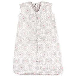 Hudson Baby® Floral Sleeping Bag in Grey/Pink