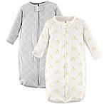 Hudson Baby® 2-Pack Long Sleeve Ducks Sleeping Bag in Yellow/Grey