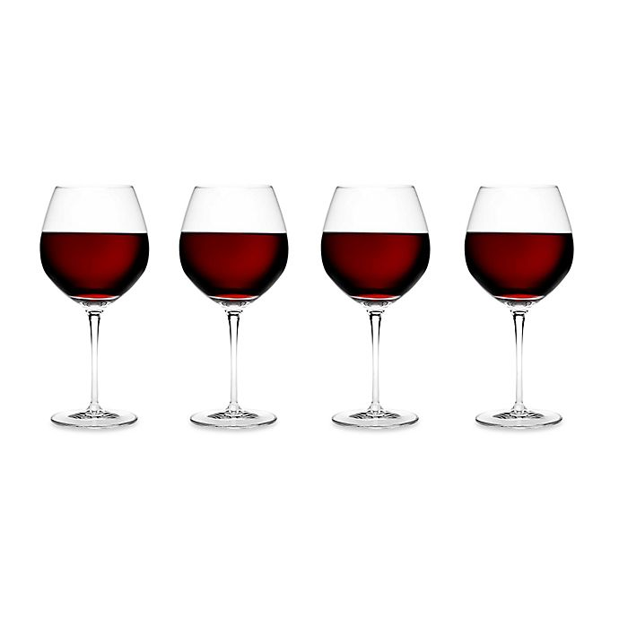 Alternate image 1 for Luigi Bormioli Crescendo SON.hyx® Burgundy Wine Glasses (Set of 4)