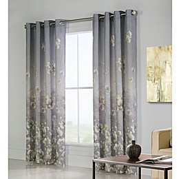 Commonwealth Home Fashions Chamberlain  Grommet Top Window Curtain Panel