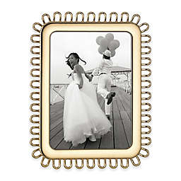 kate spade new york Keaton Street™ 5-Inch x 7-Inch Picture Frame in Gold