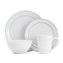 Gourmet Basics by Mikasa® Aubrey 16-Piece Dinnerware Set in White