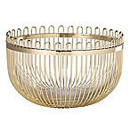 kate spade new york Keaton Street Metal Bowl in Gold