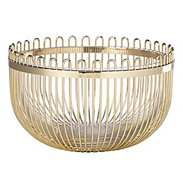 kate spade new york Keaton Street™ Bowl in Gold