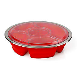 Good Cooking Collapsible Silicone Party Platter