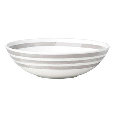 kate spade new york Charlotte Street™ Pasta Bowl in Grey