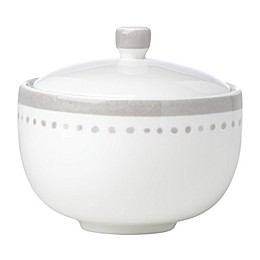 kate spade new york Charlotte Street™ Covered Sugar Bowl in Grey