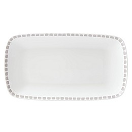 kate spade new york Charlotte Street™ Hors D'oeuvres Tray in Grey