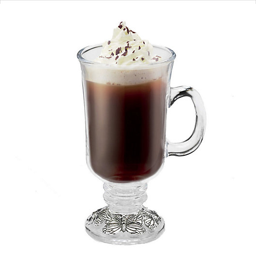 Alternate image 1 for Arthur Court Designs Butterfly Glass Mug
