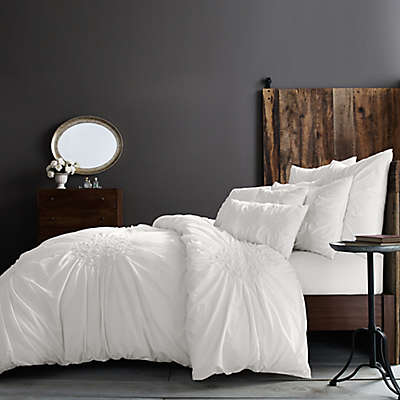 Wamsutta® Vintage Ruched Duvet Cover