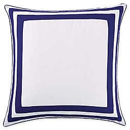 Christian Siriano NY® Garden Bloom European Pillow Sham in Blue/White