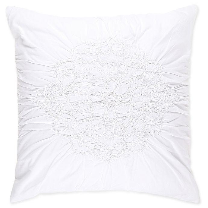 Buy Wamsutta 174 Vintage Ruched European Pillow Sham In White