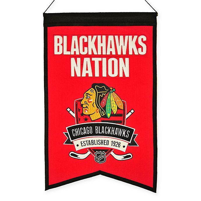 Alternate image 1 for NHL Chicago Blackhawks Nation Banner