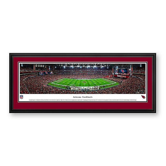Alternate image 1 for NFL Arizona Cardinals University of Phoenix Stadium Panoramic Print with Deluxe Frame