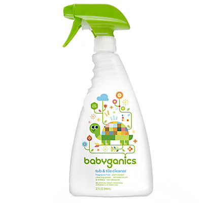 Babyganics® 32 oz. Fragrance-Free Tub & Tile Cleaner