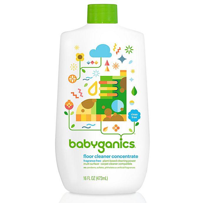 Babyganics 16 Oz Fragrance Free Floor Cleaner Concentrate