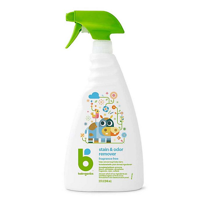 Alternate image 1 for Babyganics® 32 oz. Fragrance-Free Stain Remover