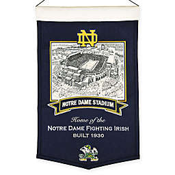 University of Notre Dame Notre Dame Stadium Banner