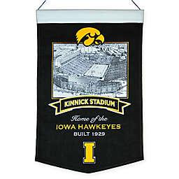 University of Iowa Kinnick Stadium Banner
