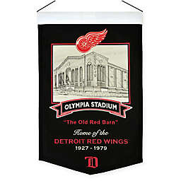 NHL Detroit Red Wings Olympia Stadium Banner