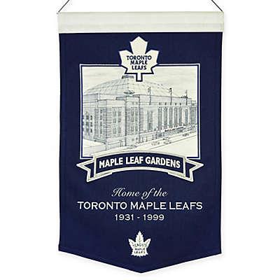 NHL Toronto Maple Leafs Maple Leaf Gardens Stadium Banner