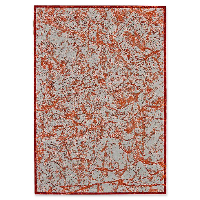 Alternate image 1 for Feizy Cerys Tangerine Rug in Orange