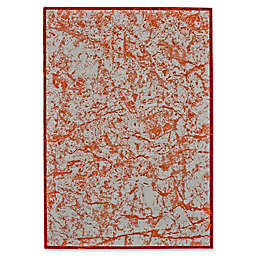 Feizy Cerys Tangerine Rug in Orange