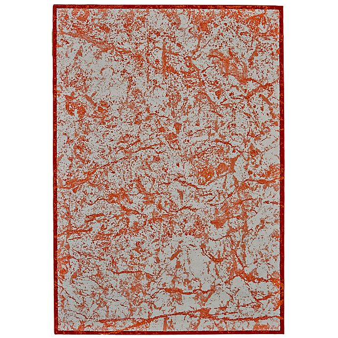 Alternate image 1 for Feizy Cerys Tangerine 10-Foot x 13-Foot 2-Inch Area Rug in Orange
