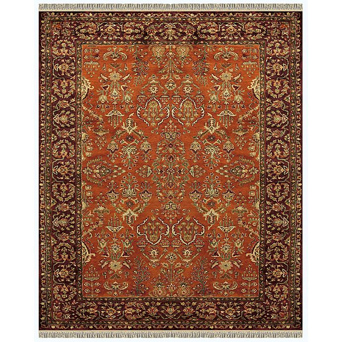 Alternate image 1 for Feizy Alegra 9-Foot 6-Inch x 13-Foot 6-Inch Area Rug in Cinnamon/Plum