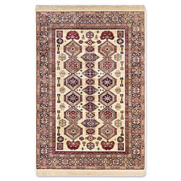 ECARPETGALLERY Shiravan Rug in Ivory/Red