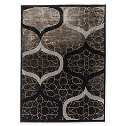 Frost 3-Foot 11-Inch x 5-Foot 3-Inch Area Rug in Grey/Khaki