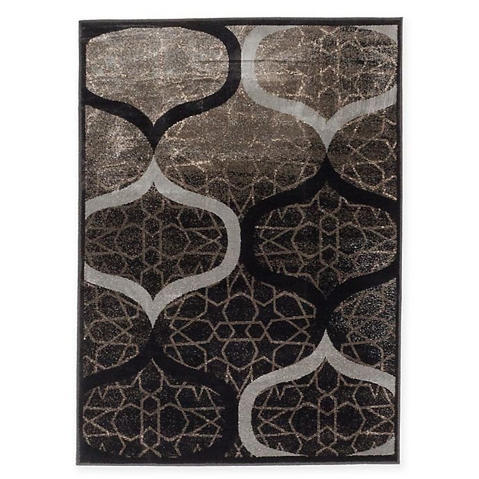 Alternate image 1 for Frost 3-Foot 11-Inch x 5-Foot 3-Inch Area Rug in Grey/Khaki