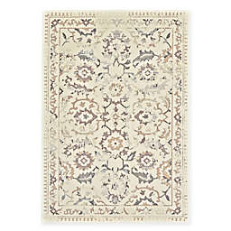 Feizy Settat Damask 7-Foot 10-Inch x 11-Foot Rug in Cream/Grey