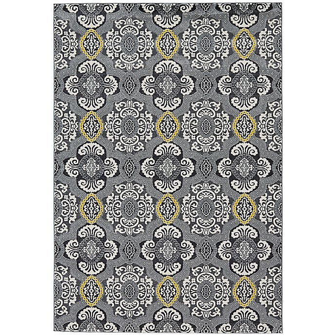 Alternate image 1 for Feizy Farrell 10-Foot x 13-Foot 2-Inch Area Rug in Fog