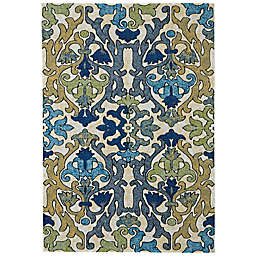 Feizy Caslon 10-Foot x 13-Foot 2 -Inch Area Rug in Chartreuse