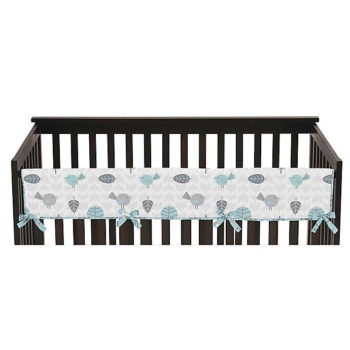 Alternate image 1 for Sweet Jojo Designs Earth and Sky Reversible Long Crib Rail Cover