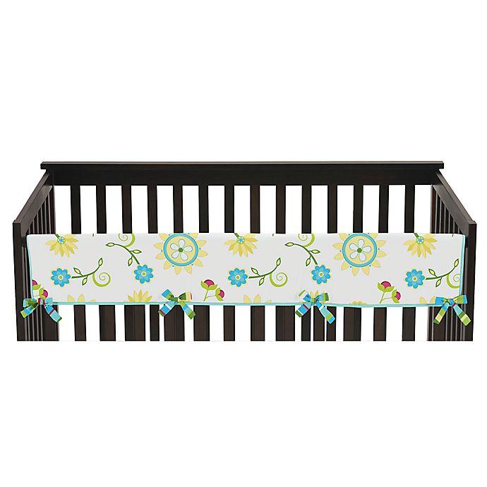 Alternate image 1 for Sweet Jojo Designs Layla Long Crib Rail Crib Guard Cover