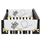 Sweet Jojo Designs Honey Bee Side Crib Rail Covers (Set of 2)
