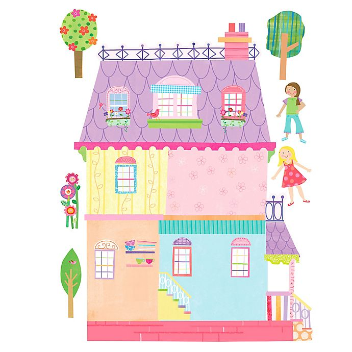 Alternate image 1 for Wallies Playhouse Peel & Stick Wall Decals