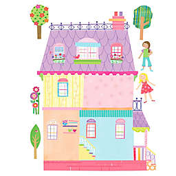 Wallies Playhouse Peel & Stick Wall Decals